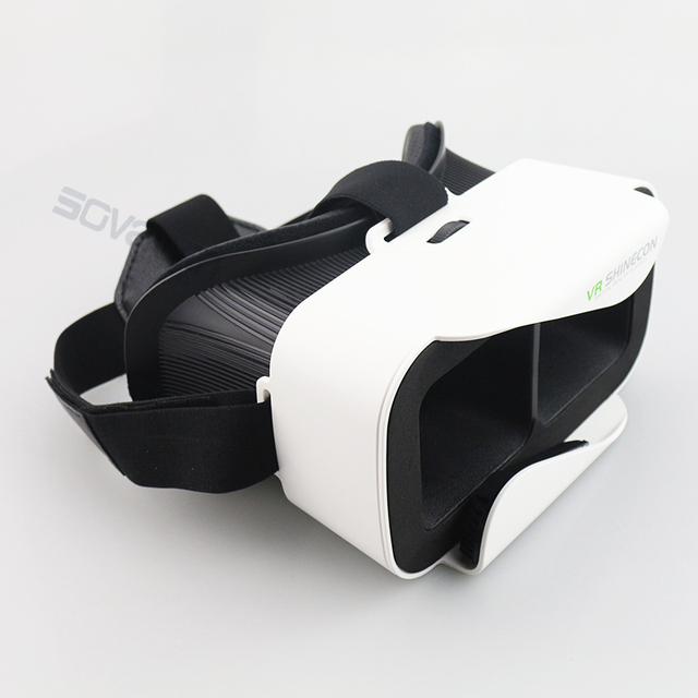 Original VR Shinecon 3.0 Cardboard 360 Virtual Reality Glasses