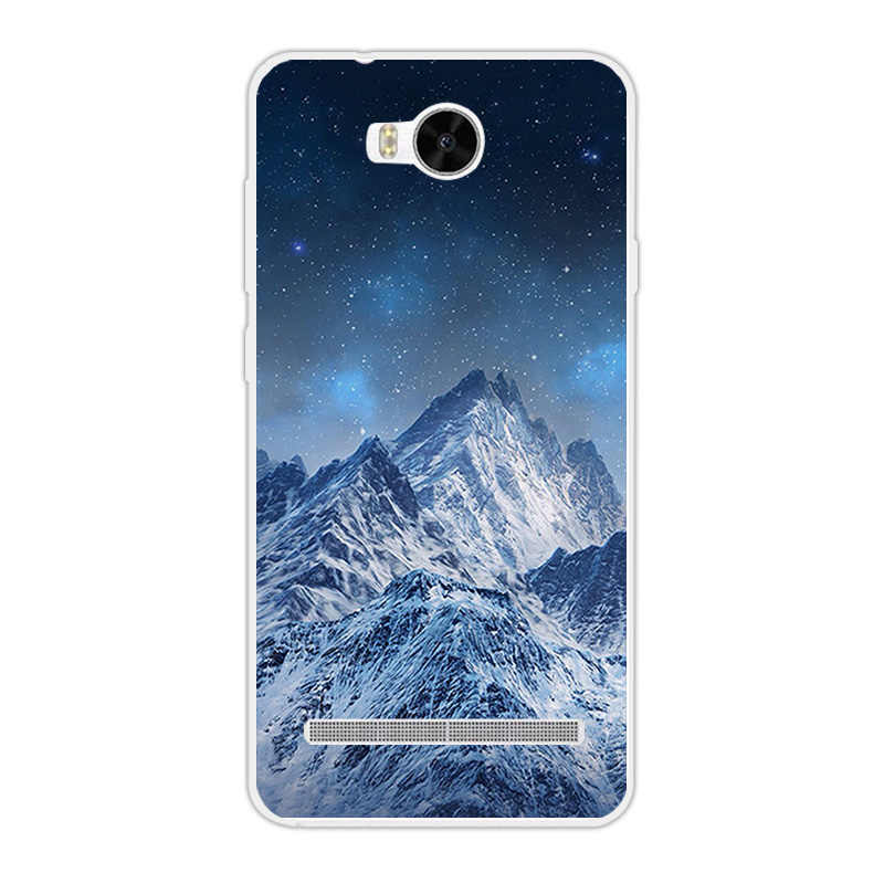 Мягкий чехол для Huawei Y3II/Y3 II 2 Чехол пейзажа дизайн телефона чехлы для Huawei Y3 II Y3 2 Капа для Y3 2 Y3II Lua-L21 Shell