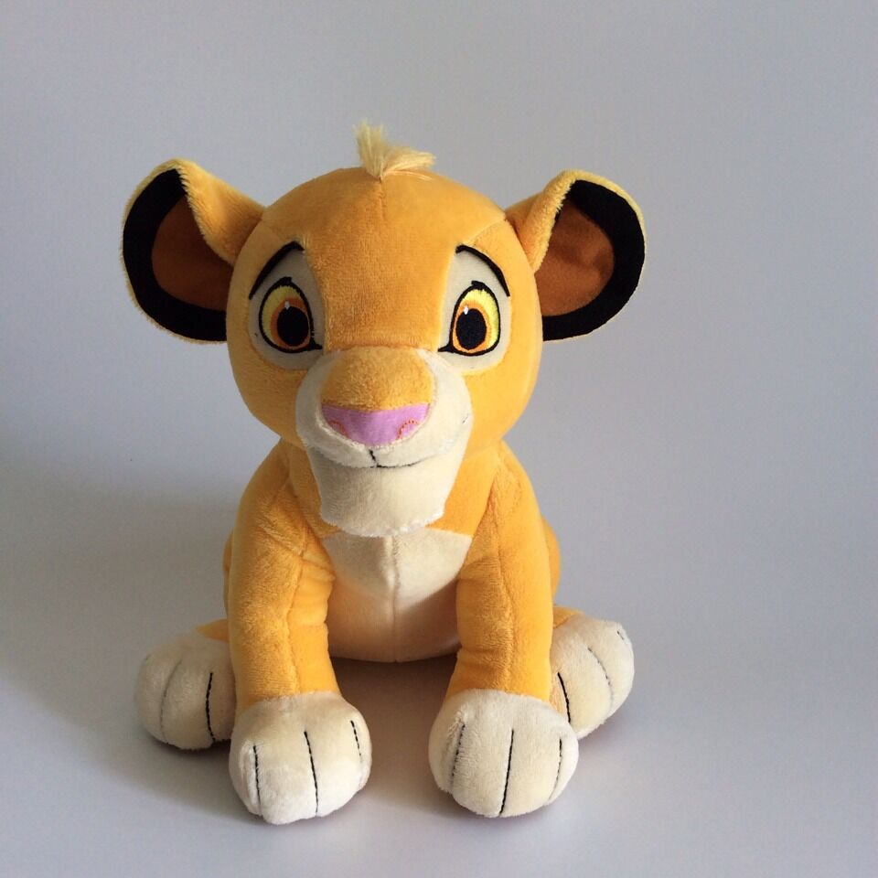 Disney Toy Plush-Toys Animals King Simba-Quality Educational High-The-Lion Children Doll