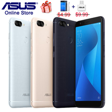 Asus ZenFone Max Artı (M1) x018DC Peg asus 4 s ZB570TL 5.7 inç 18:9 Tam Sreen Smartphone Octa Çekirdek 3 Kameralar 4130 mAh Cep ...