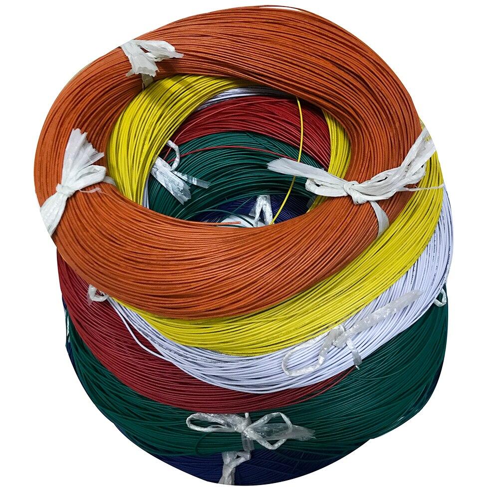 PVC Elektronische Draht Kabel UL Zertifizierung 5 M/10 M UL1007 AWG24 1,4mm Draht Verlängerung Kabel Heizung Kupfer electirc Linie