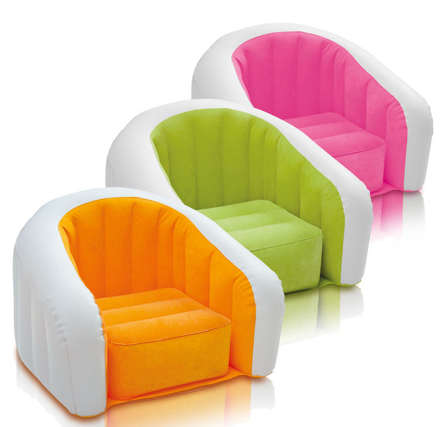 inflatable chair stool childrens sofa chairs new package post original authentic u type children single leisure