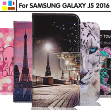 Eiimoo PU телефон Coque для Samsung Galaxy J5 2016 крышка 5.2 «J510 J510F J5108 Флип кожаный принципиально для Samsung Galaxy J5 2016 чехол