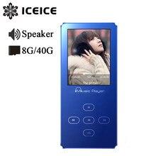 Мини USB MP3-плеер со спикером, наушники, электронная книга для чтения без потерь, Hifi MP 3, музыкальный плеер, fm-радио, аудио, Walkman, MP3, тонкий TF SD