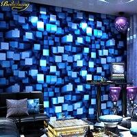 beibehang KTV wallpaper 3d stereo personality flash bar hotel fancy dance hall box theme room ceiling wall paper vinyl flooring
