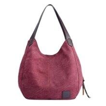 цена на New Fashion Women Handbag Shoulder Bags Tote Purse Messenger Hobo Canvas Bag