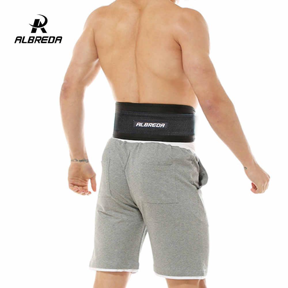 Albreda Nieuwe Fitnessapparatuur Halters Gewichtheffen Riem Drop Shipping Dip Riem Sterkte Pull Up Belasting Riem Gym Power Oefening