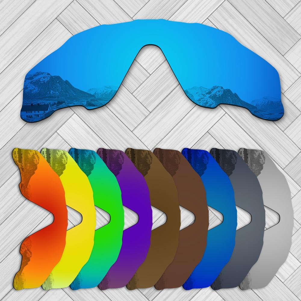 E.O.S 20 + варианты замены линз для солнцезащитных очков OAKLEY Jawbreaker