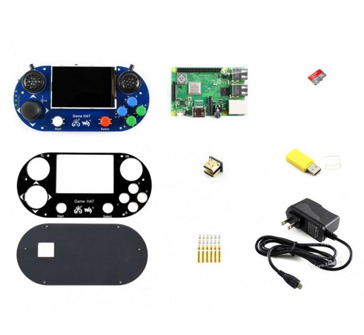 Raspberry Pi 3 Model B + Development Kit (Type G) Game HOED, Micro Sd kaart, power Adapter, etc.-in Demo bord van Computer & Kantoor op AliExpress - 11.11_Dubbel 11Vrijgezellendag 1