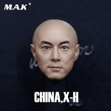 1/6 Male Head Sculpt 1:6 Scale Dicky Cheung Head Carved actor singer Zhang Weijian PVC head Model Toys Fit 12