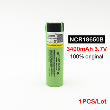 New Original 18650 3400mah battery Rechargeable Li-ion NCR18650B 3.7V 3400 battery ncr18650 3400 Latest batch 18650 3400 mah MA