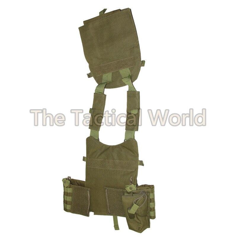 Tactique chasse Airsoft gilet peut mettre plaque transporteur munitions corps Molle chargement ours tir armée vêtements gilets accessoires - 6