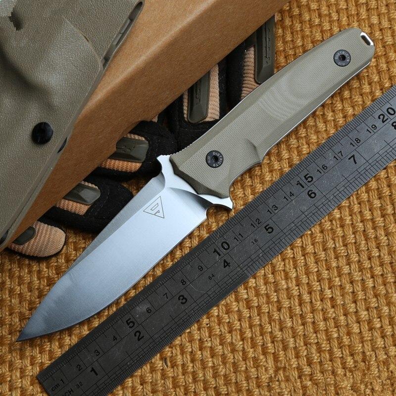 District 9 Defender 2 Fixed Blade font b Knife b font KYDEX Sheath font b Hunting