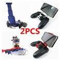 2 unids teléfono móvil del teléfono móvil abrazadera de Smart Clip de la manija del sostenedor soporte soporte soporte para PS4 Playstation 4 DualShock 4 controlador