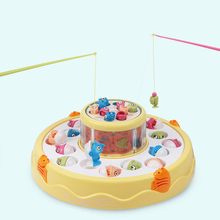 Magnetic Fishing Toy For Boys Rod Net Set Kids Magnet Child Model Play Games Outdoor Toys Electric power