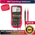 UNI-T UT61B 3999 Count Auto Power Off LCD Backlight DMM Digital Multimeters with Temperature Test