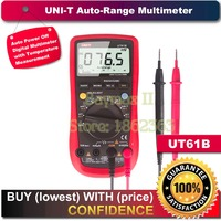 UNI T UT61B Modern Auto Power Off LCD Backlight DMM Digital Multimeters W Temperature Test
