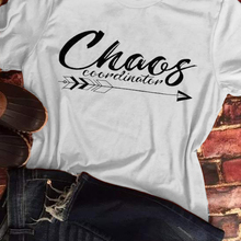 fe2d0f589419 Chaos Coordinator Arrow T-Shirt Tee Women funny graphic tshirt summer style  outfits tops t