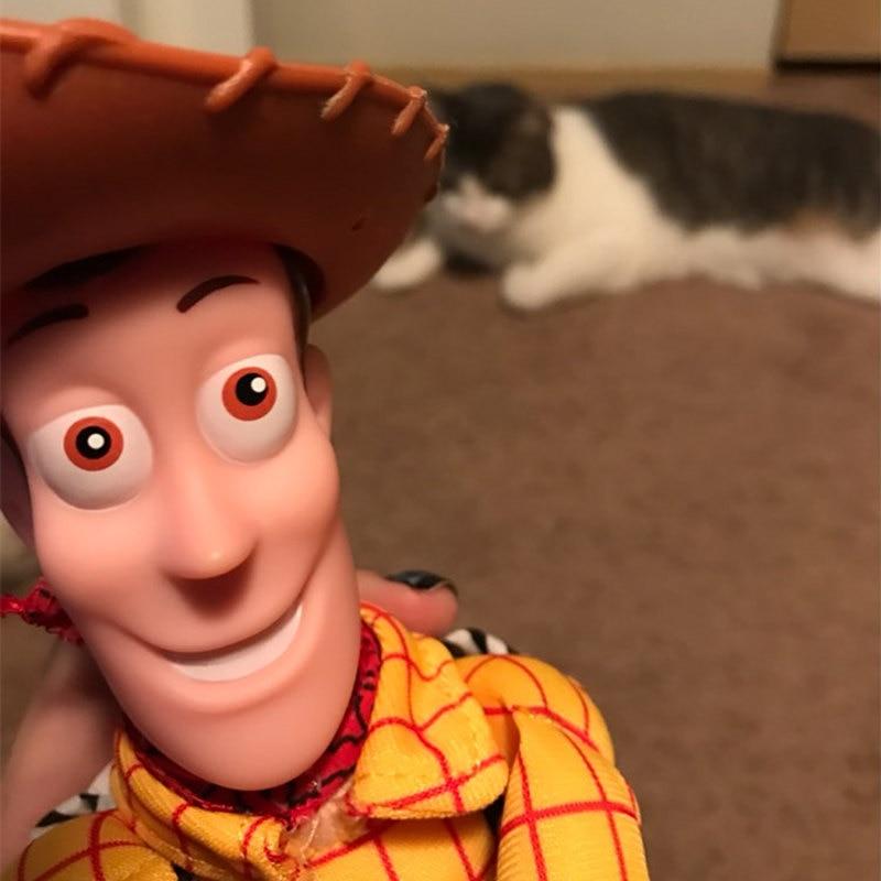 LORDUPHOLD Juokingi mieli žaisliukų pasakojimai Šerifas Medžio - Automobilių išoriniai aksesuarai - Nuotrauka 6