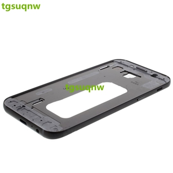 5 pieces/lot Middle Chassis Mid Housing Frame Bezel Cover+ Power On off Side Button for Samsung Galaxy A5 2017  A520  B/G/S