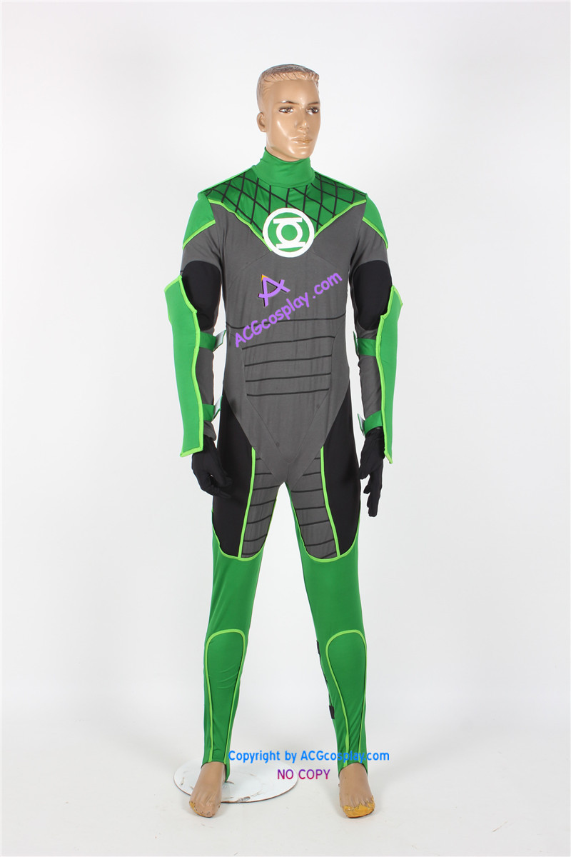 Green Lantern  John Stewart Cosplay Costume