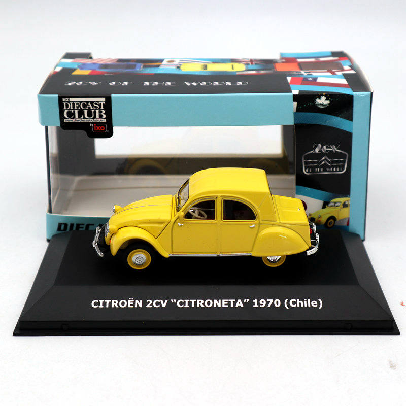 Lot Of IXO 1:43 Citroen 2CV PICK UP VIETNAM/Chile/United Kingdom Diecast Toys Car Models Limited Collection