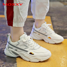 Vintage sneakers Women Shoes Chunky Sneakers 2019 New Fashion Running Dad White Sneakers Casual Shoe Basket chaussures femme