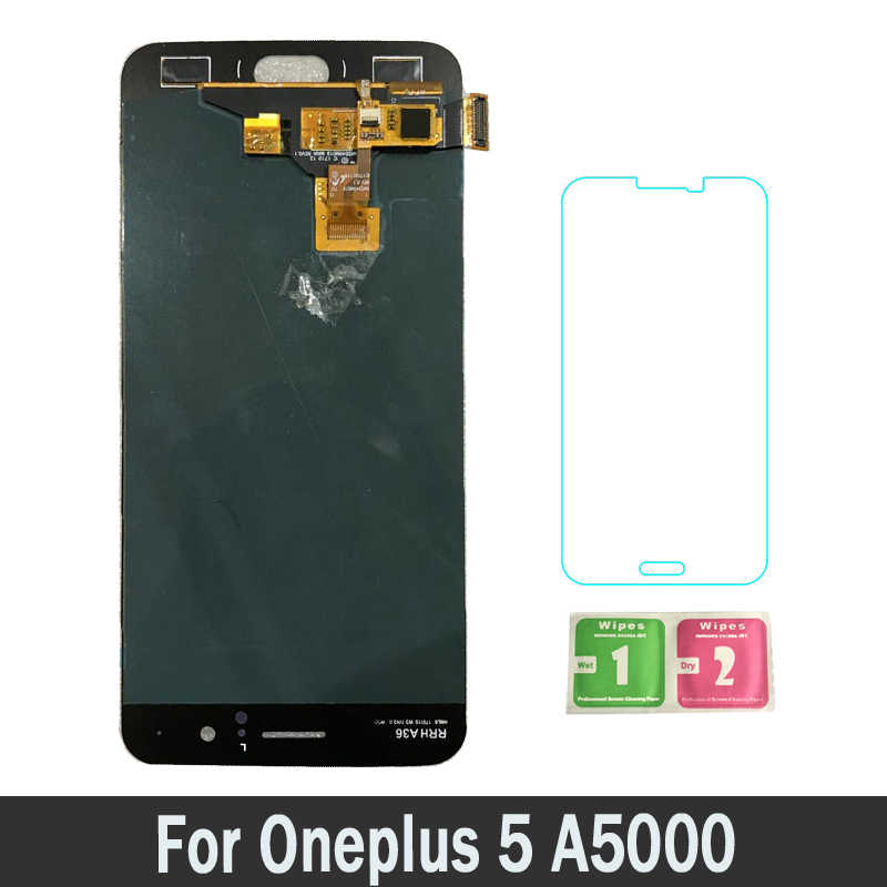 Great Quality NEW LCD For Oneplus 5 A5000 For oneplus5 Lcds Display Touch Screen Digitizer Replacement Parts Assembly