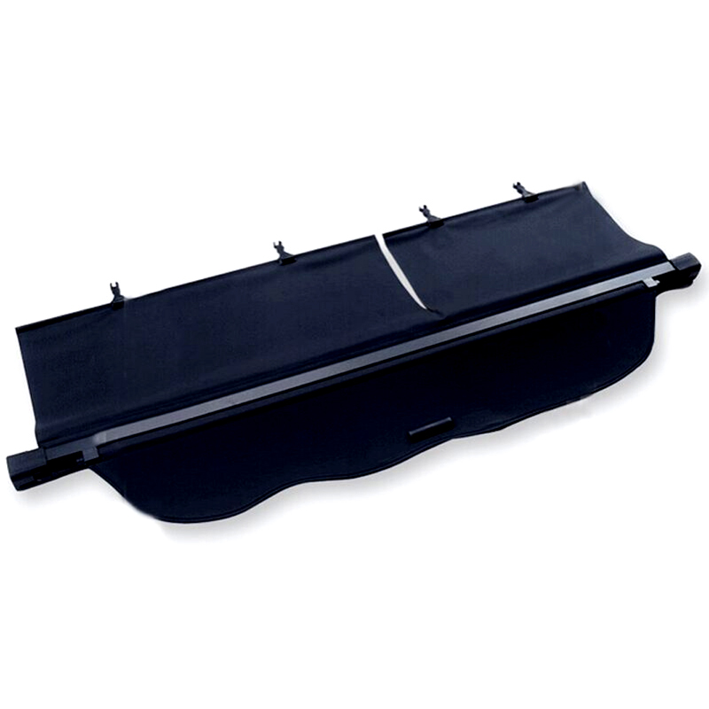 Black Rear Trunk Cargo Cover Shade For Toyota Land Cruiser Prado FJ150 2010 2011 2012 2013 2014 2015 car rear trunk security shield shade cargo cover for toyota highlander 2009 2010 2011 2012 2013 2014 2015 2016 2017 black beige