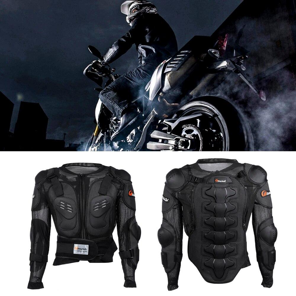 Équitation Tribu HX-P13 Veste De Protection Moto Hommes Pleine Corps Moto Protection Sport Course Équitation Taille M-3XL