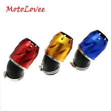 MotoLovee Motorcycle Air Filter Adjustable Diameter Universal Scooter Modification Parts Air- Cleaner Engine For Honda