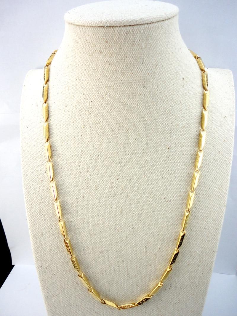 EcooLin 22.06 դյույմ Բամբուկե ոսկե - Նորաձև զարդեր - Լուսանկար 2