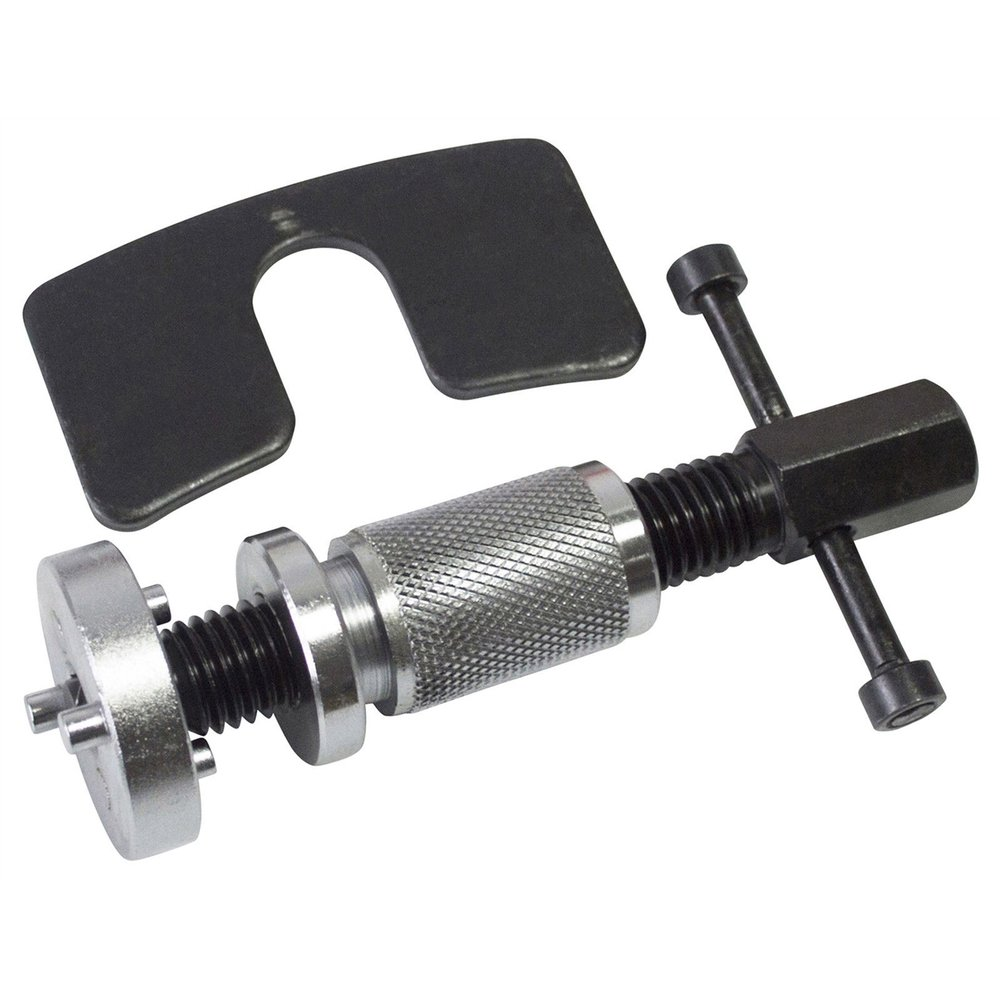 Universal Car Wheel Cylinder Disc Brake Caliper Piston Rewind Hand Tool 3/8 Dual Pin Repair Tool With Backing Plate