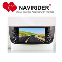 car dvd Fit for FIAT LINEA DECKLESS navigation HU tape recorder multimedia radio GPS mirror link android 8.1.0 head unit