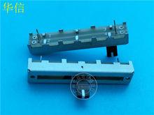 5pcs para Taiwan SC3043N A50K fader potenciômetro de slides em linha reta/com o ponto médio