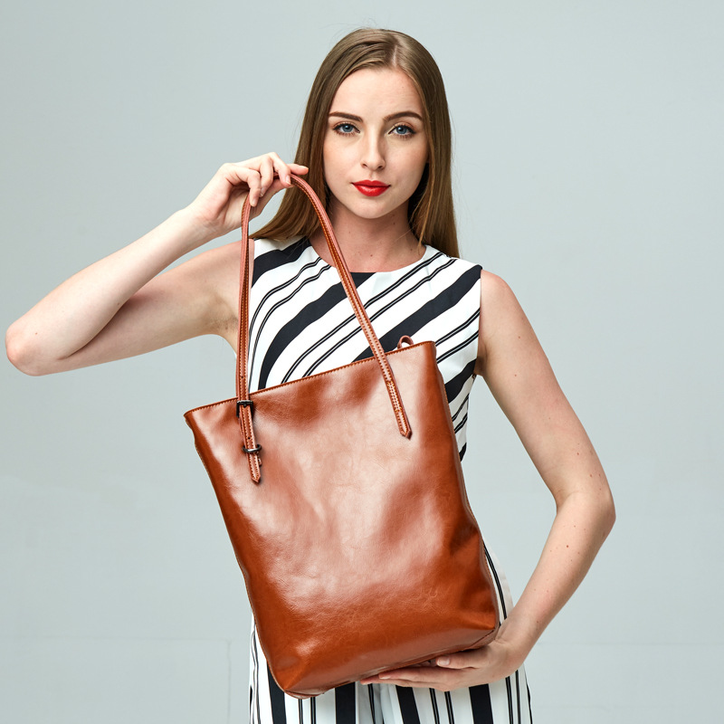 Ladies' genuine leather handbag 2018 luxury handbags women bags designer new fashion 100% leather handbags leather shoulder bag zooler women handbag elegant ol shoulder bag ladies cow leather handbags fashion corssbody bags designer genuine leather handbag