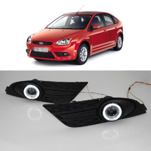 Ownsun Cob Fog Light Angel Eye Tyre Sports Per Projector Lens For Ford Focus 2007 In Car Embly From Automobiles Motorcycles On Aliexpress