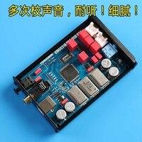 CM6631A Digital interface 32/24Bit 192K Soundkarte USB zu I2S/SPDIF Koaxial Ausgang Unterstützung Verbinden Decoder upgrade DAC