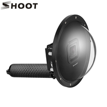 SHOOT 6 inch Diving Dome Port For GoPro Camera Go Pro 6 5 Black Sports Cam With Waterproof Case Dome For Gopro 6 5 Accessory