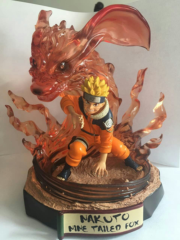 MODEL FANS IN STOCK The same paragraph Toynami 19cm NARUTO GK resin made statue contain let