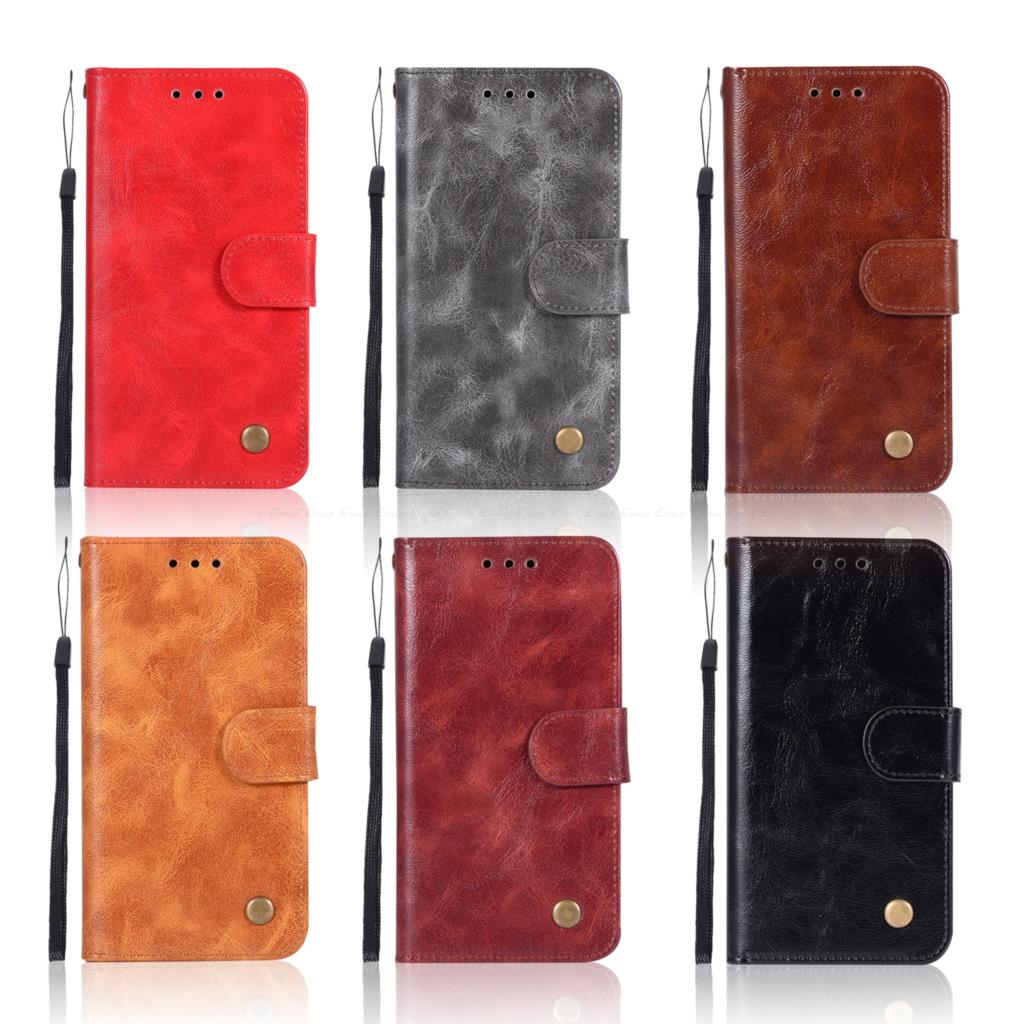 Vintage Wallet Flip Leather Case For Google Pixel 3 2 XL Protective Cover With Phone Strap Card Slot Stand Holder TPU Bumper