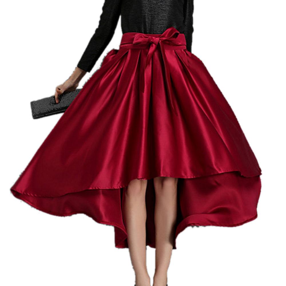 Popular High Waist Maxi Skirt Long with Bow-Buy Cheap High Waist ...