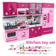 hello kitty kitchen toys DHL Pretend Play Toy Tableware larg