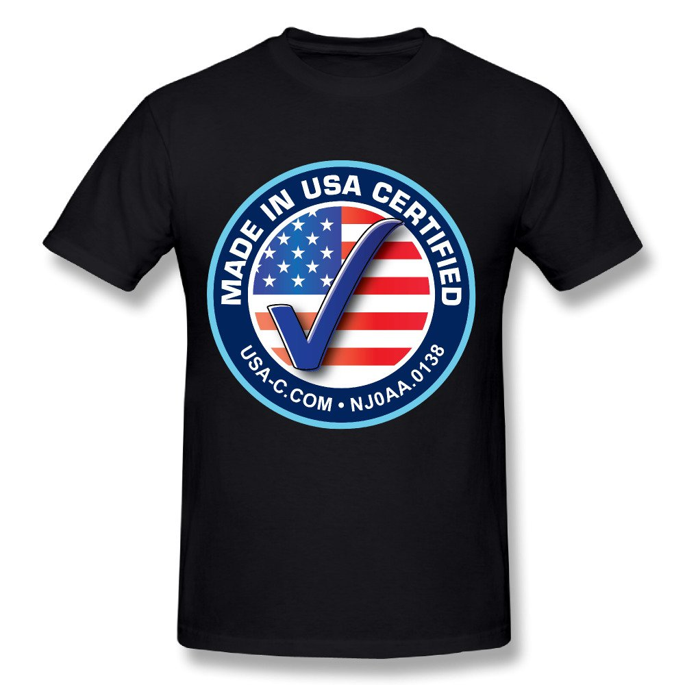 Design your own t shirt made in usa - 2017 Men S Made In Usa Fashion Funny Custom Print Slim Fit T Shirt Top Quality Cotton