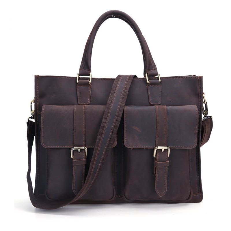 Business Zipper Shoulder Laptop Simple Bags Briefcase Brown Portable Unisex Nylon Computer Quality Classic Fashion Design bagBusiness Zipper Shoulder Laptop Simple Bags Briefcase Brown Portable Unisex Nylon Computer Quality Classic Fashion Design bag