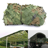 Woodland Camouflage Military Netting Sunshade Cloth Canopy Shelter 10x1.5m Army Camo Camping Cover Patio Garden Decoration