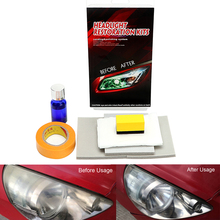 цена Headlamp Polishing For car head lamp lense Restores Clarity Increase Visibility DIY Headlight Restorstion Kit Anti-scratch
