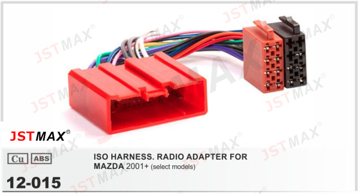 Wiring Harness Adapter Mazda : Aliexpress buy jstmax car iso radio cable adapter