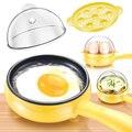 Электрическая сковорода 350 Вт  антипригарная сковорода  гриль  сковорода для блинов  завтрак  многофункциональный бытовой бойлер для жарено...