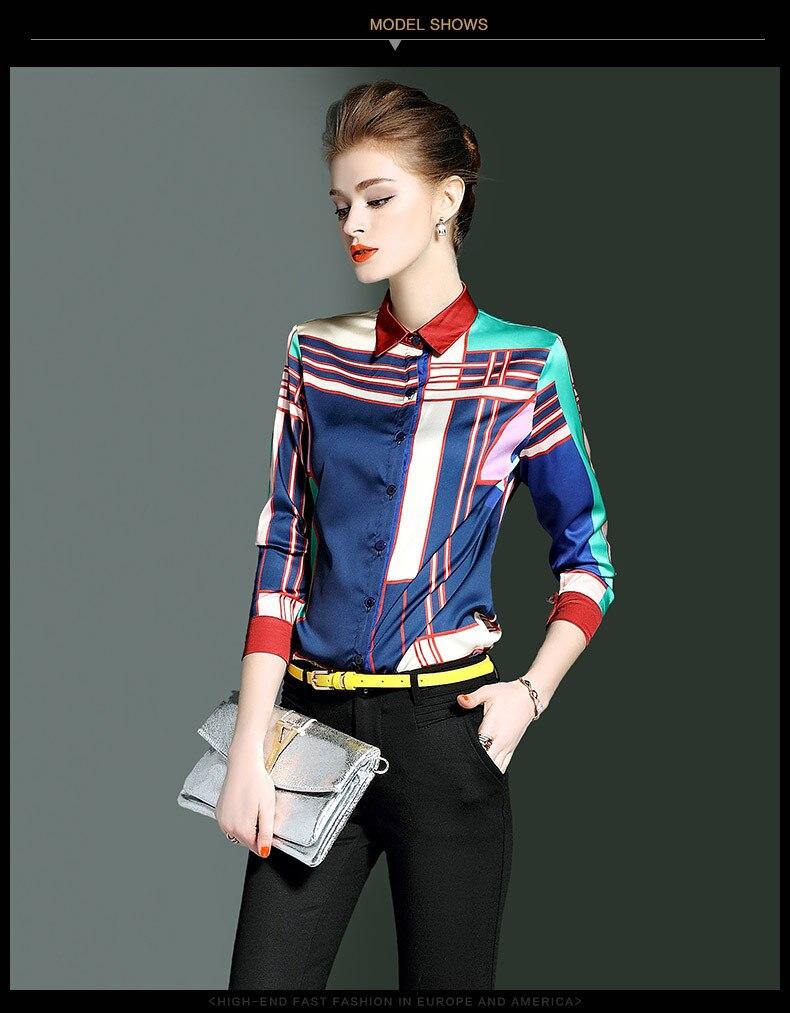 97796bb72310dc AYUNSUE 2018 Women s Fashion Blouses Female Shirt Office Ladies ...